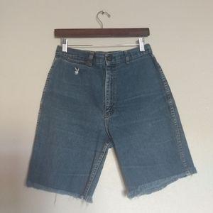 Vintage Playboy Jean Shorts